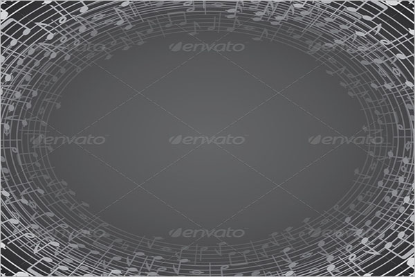 Music Background Template