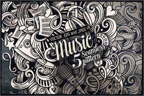 Music Doodles Patterns