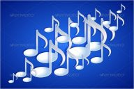 Music Melody Background