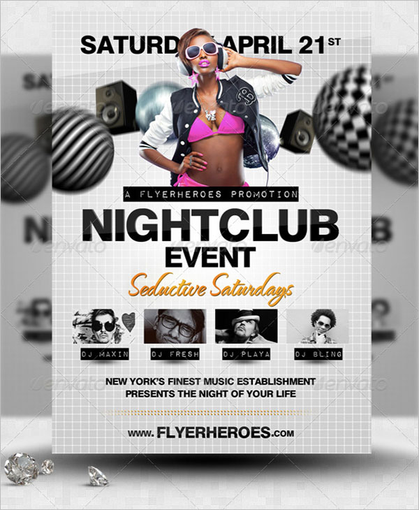Music Nightclub Flyer Template