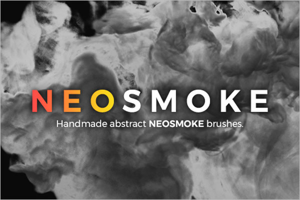 Neo Smoke Brushes Photoshop