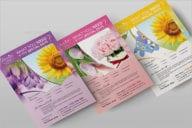 New Florist Shop Flyer Template