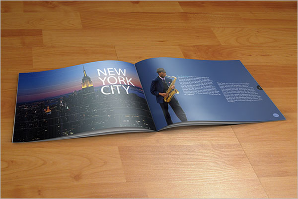 New York City Travel Brochure Design