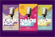 Night Flyer Design Template
