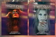 Nightclub Flyer Background