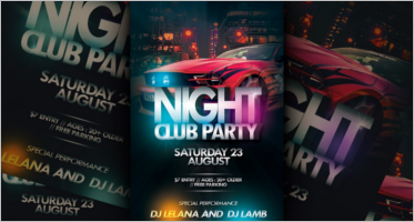 Nightclub Flyer Designs