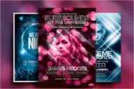 Nightclub Flyer Set Template