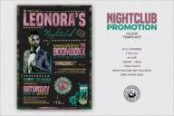 Nightclub Promotion Flyer Template