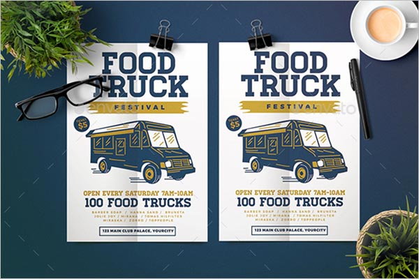 Official Food Truck Flyer