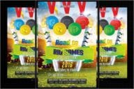 Olympic Flyer Design