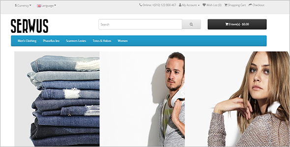 Opencart Store Theme For Ecommerce