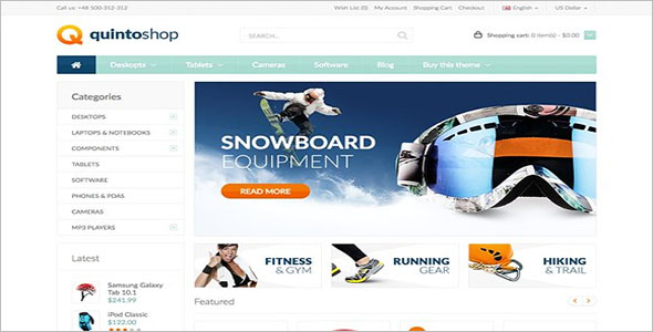 Opencart Theme For Ecommerce