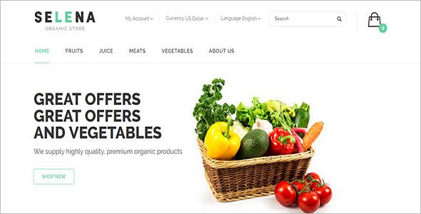 Organic Opencart Template