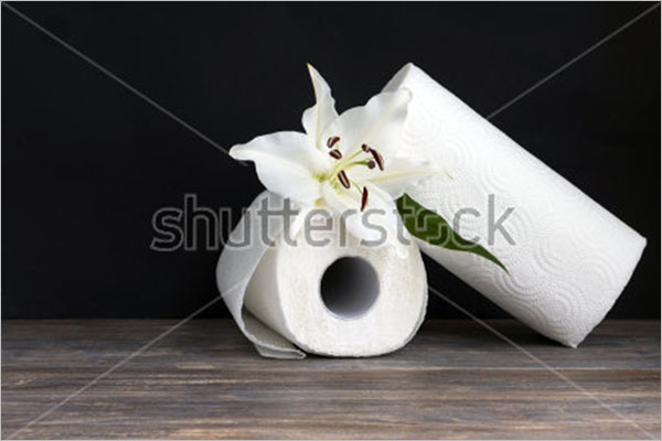 Paper Towel Rolls Mockup