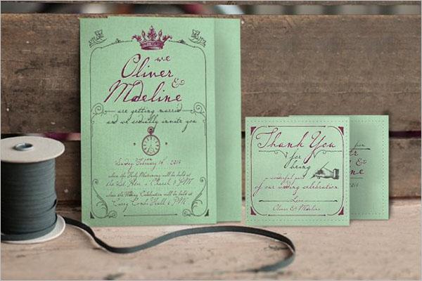 Paris Wedding Invitation Background