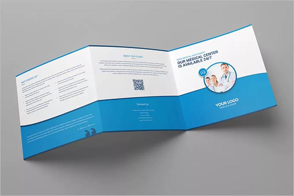 Physician Medical Brochure TemplateÂ