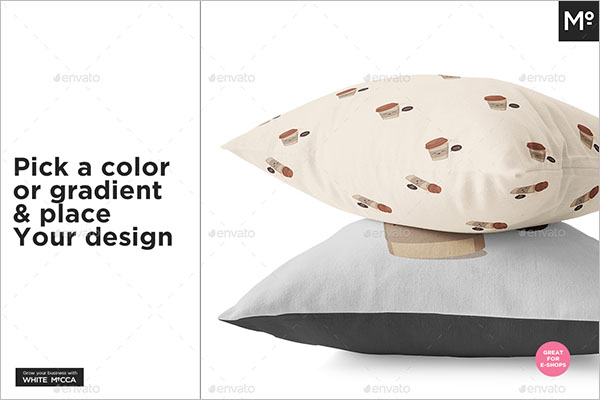 Pillow Generator Mock-up Design