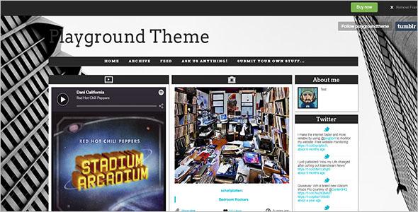 Playground Tumblr Theme