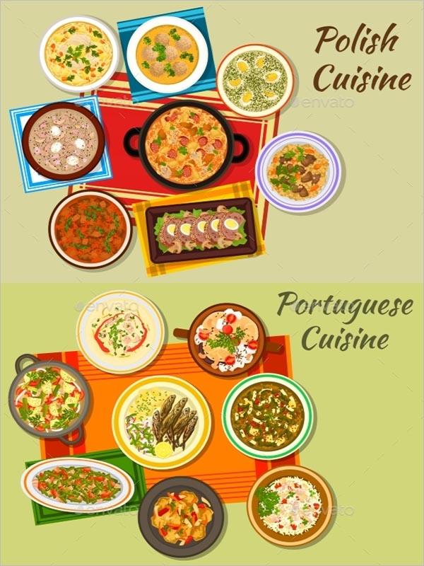 Polish Cuisine Icon For Food