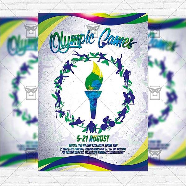 Premium Olympic Flyer