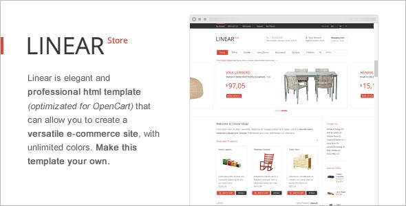 Premium OpenCart Template Designer