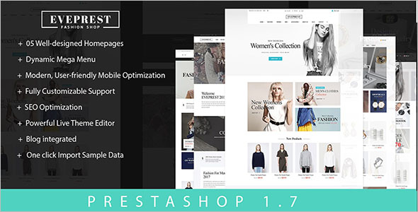 Prestashop Template Builder