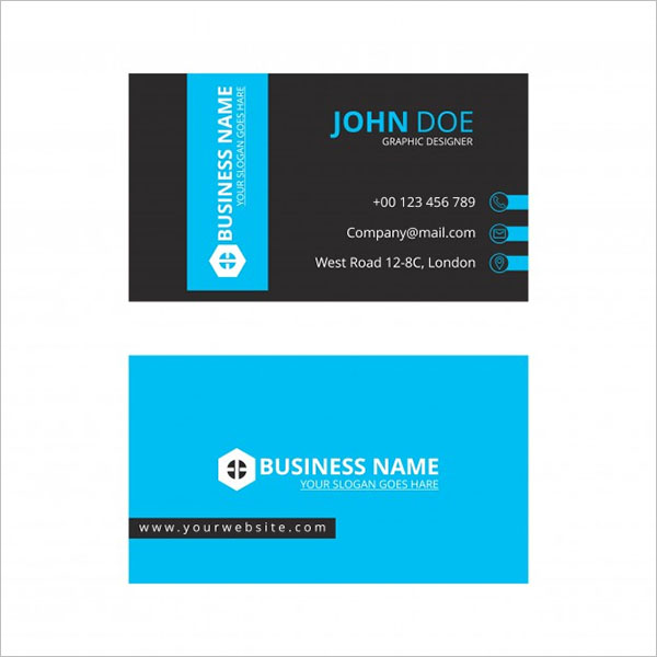 Printable Artistic Business Card