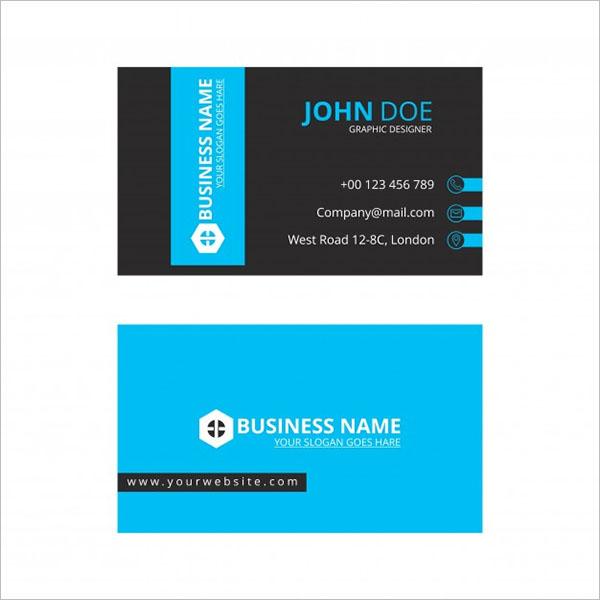 Printable Artistic Business Card