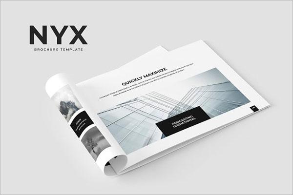 Printable Brochure Template Illustrator