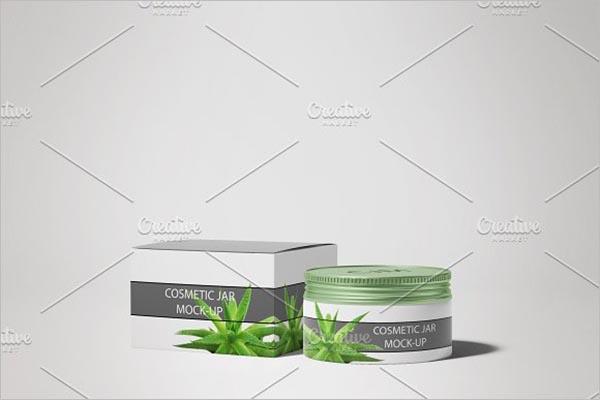 Printable Cosmetics mock-up Template