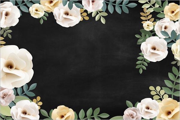 Printable Flower Texture