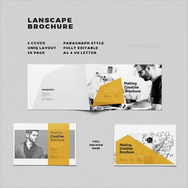 Printable Landscape Brochure