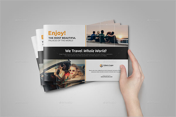 Printable Travel Brochure Template