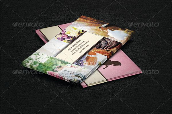 Printable Wedding Business Card