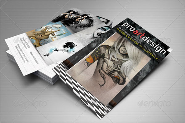 Pro Design Artistic Business Card