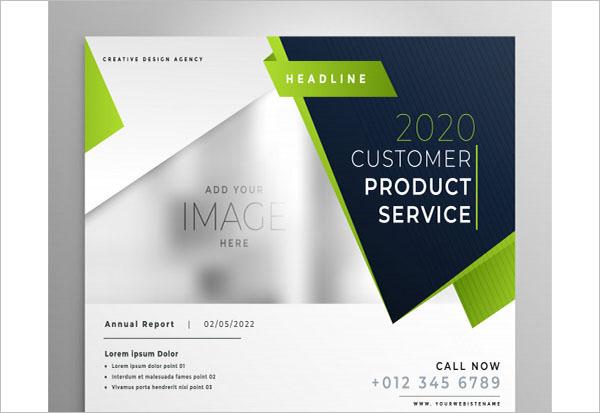 Professioacnal Green Business Brochure Design