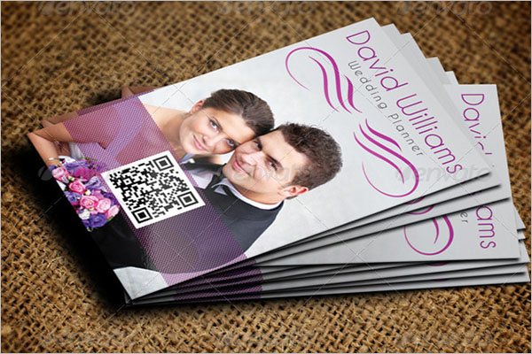 Professional Wedding Business Card