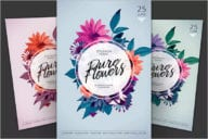 Pure Flower Flyer Template