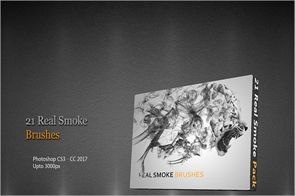 Real Smoke Brushes Photoshop