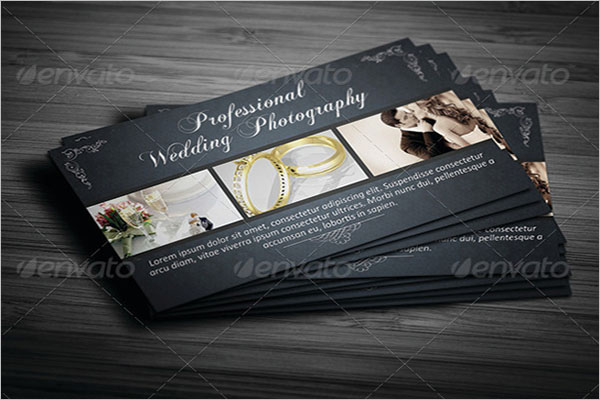 Real Wedding Business Card