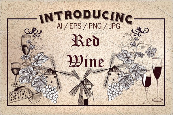 Red Wine Poster Design