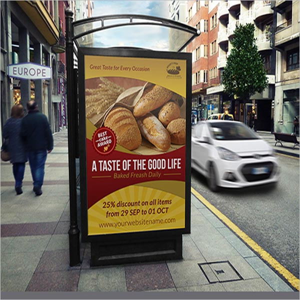 Responsive Bakery Poster Design