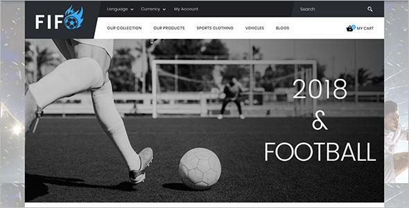 Responsive Sport Store OpenCart Theme