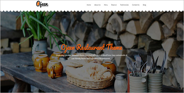 Restaurant WordPress Prestashop Theme