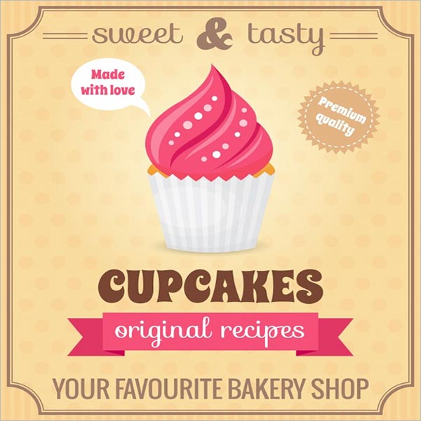 Retro Bakery Poster Design