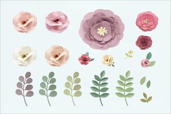 Retro Flower Texture