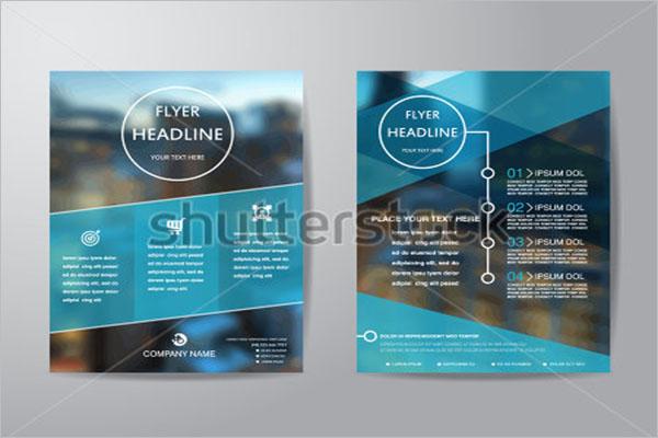 Retro Flyer Design Template