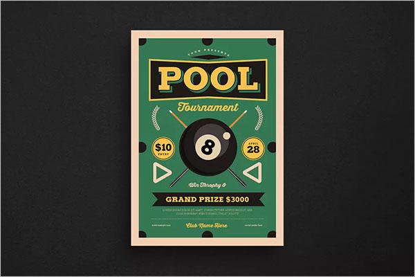 Retro Pool Night Tournament