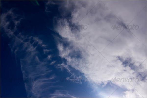 Retro Sky Texture