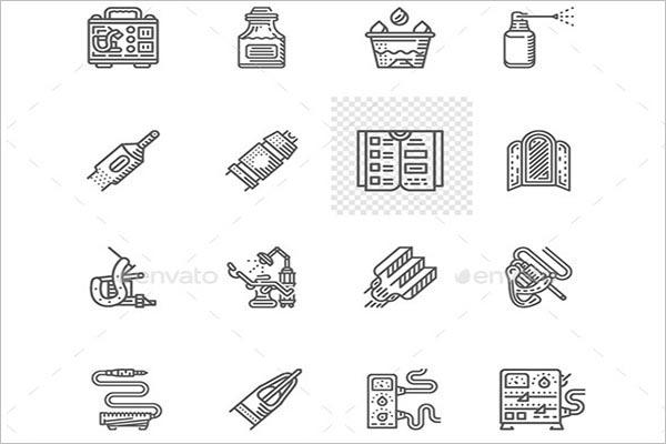 Retro Tattoo Icons